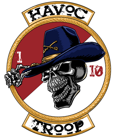 HHT 110 CAV Havoc Troop Shirt (With images) Us army