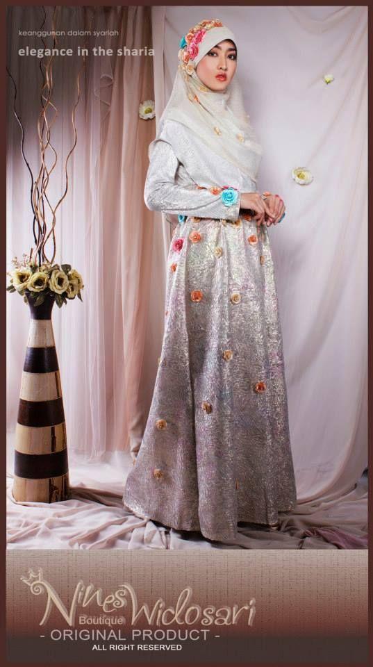 PM.SILVER BUNGA MATERIAL: IDR.8.000.000 #BUSANA MUSLIM,#WEDDING ...