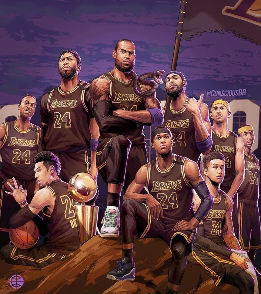 Lakersbackintime17x Lakersbackintime Posted On Instagram Oct 13 2020 At 8 43pm Utc Nba Artwork Lakers Wallpaper Nba Pictures Kobe and lebron lakers wallpaper iphone