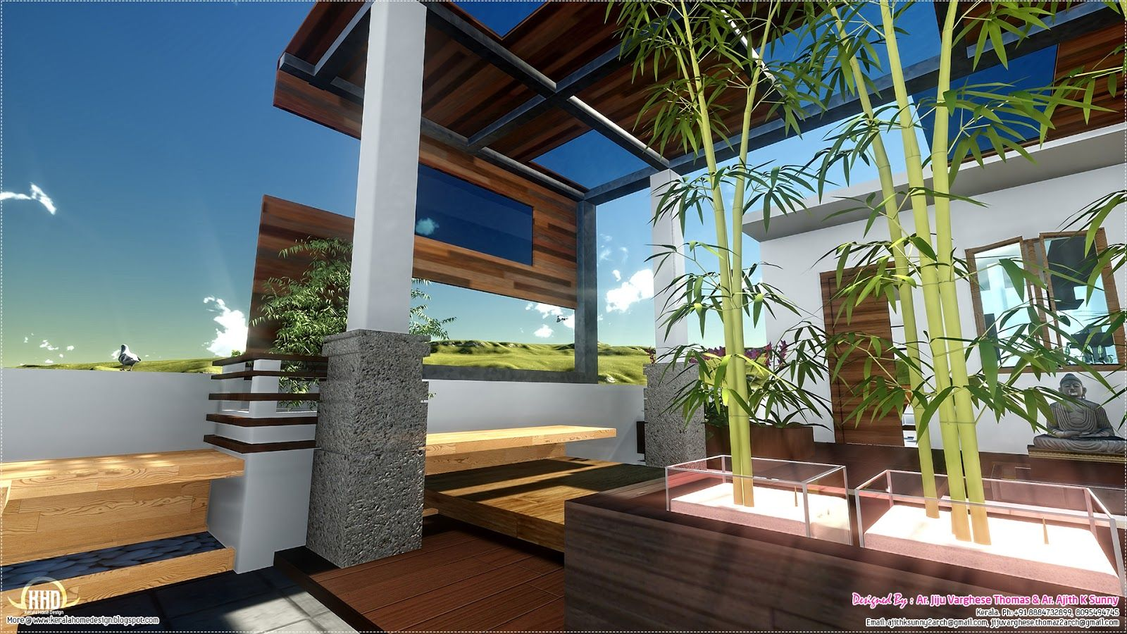 Kitchen window kerala  h s landscape design  bathroom design   pinterest