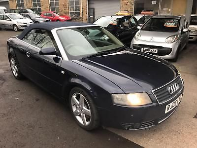Audi A4 Cabriolet 2 5tdi Cvt Auto Sport Convertible 2005 05 Reg 6 Months Mot 1 990 00 End Date Thursday Feb 22 2018 14 45 Gmt Add