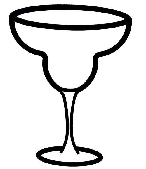 margarita glass template | Identity and Brand Development ...