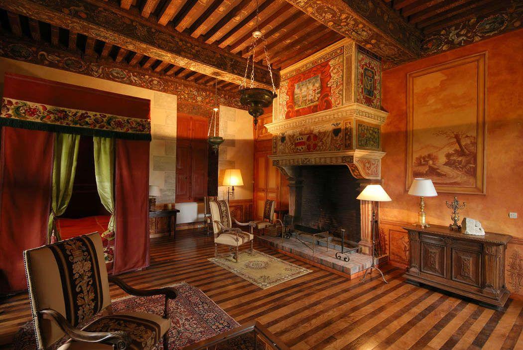Cote D Or Chateau De Menessaire Chambre Renaissance Chateau Chambre D Hote Chambre