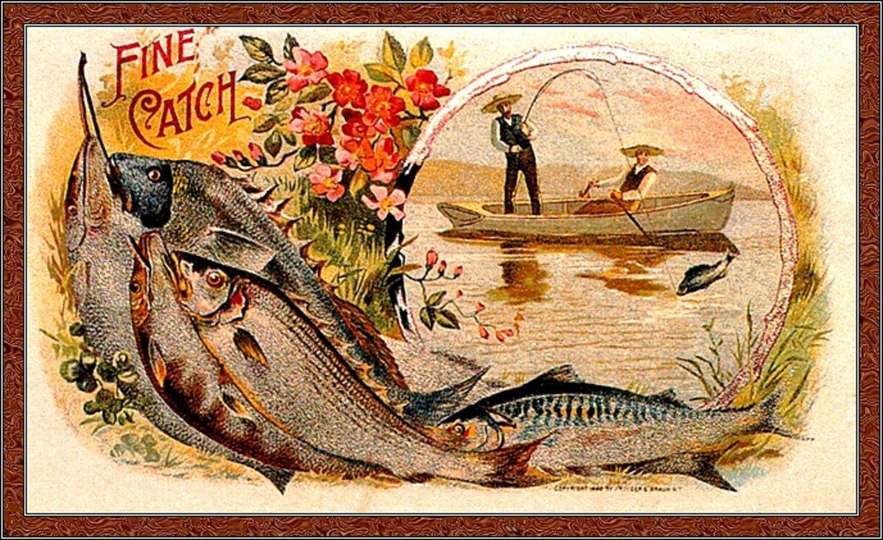 Картинки для скрапа рыбалка