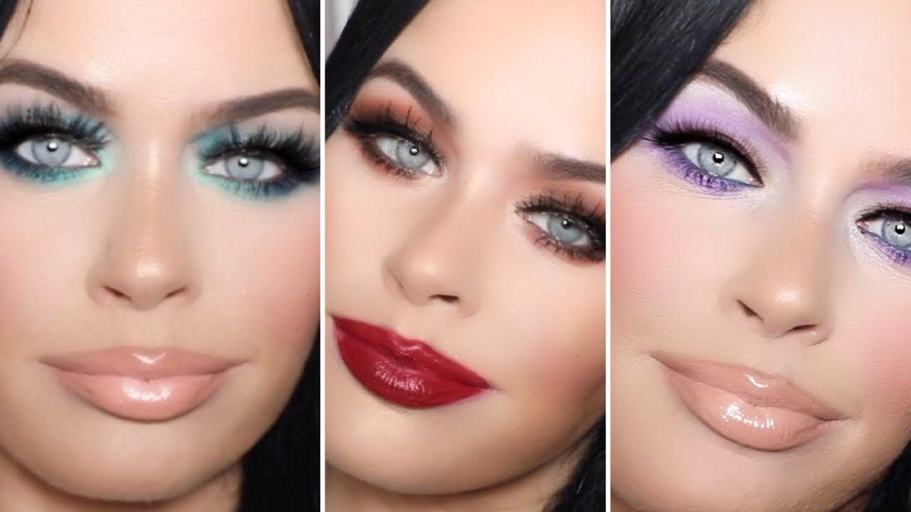 3 Looks 1 Palette I Revlon Wonder Woman Collection I Drugstore Makeup Tu In 2020 Drugstore Makeup Tutorial Drugstore Makeup Revlon Eyeshadow Palette