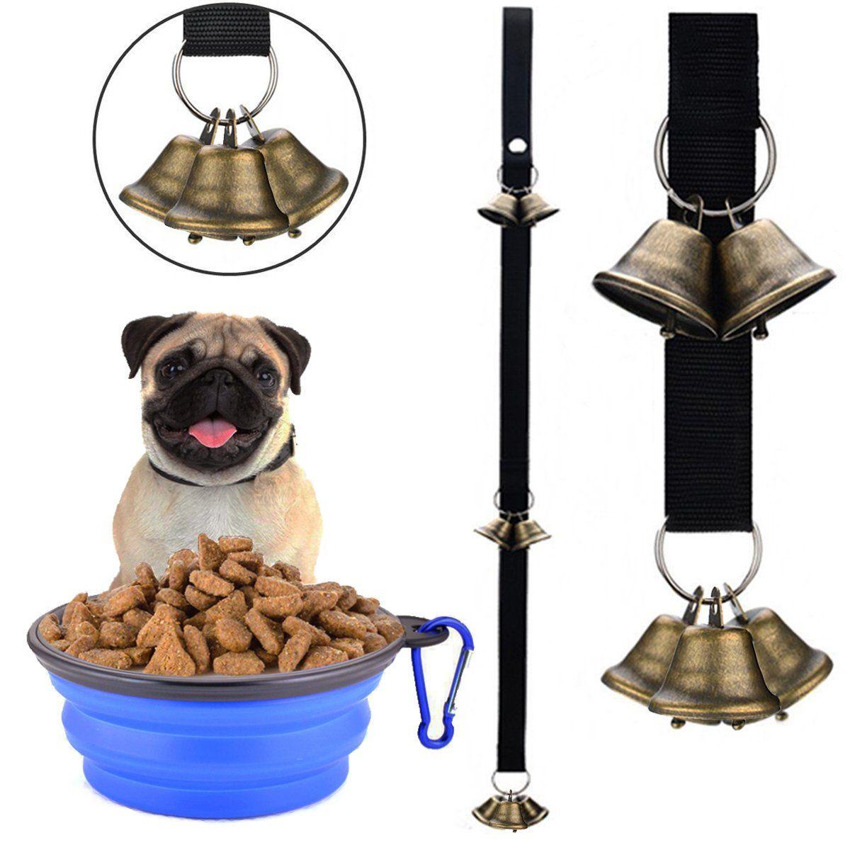 Petwooo Dog Bell Pet Dog Cat Bells For Potty Training Dog Door