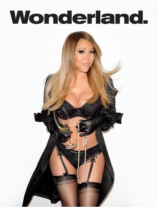 Mariah Carey shows off her body for 'Wonderland' magazine's summer issue written by Joi Pearson for Rolling Out