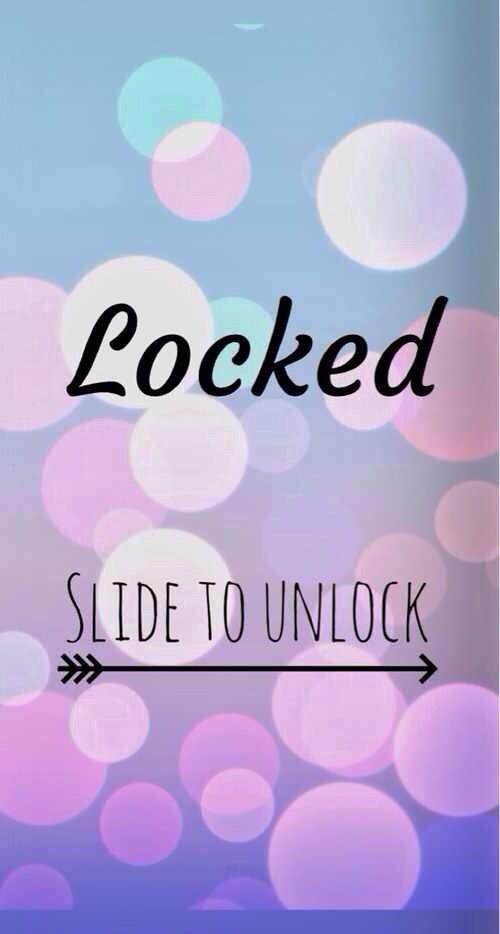 Locked slide to unlock Ipod wallpaper, Cute wallpapers