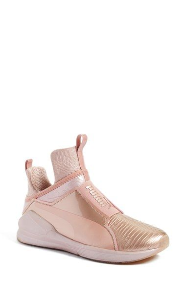 6affec7d3d40 Free shipping and returns on PUMA  Fierce Metallic  High Top Sneaker  (Women) at Nordstrom.com. In collaboration with Rihanna s Fenty label