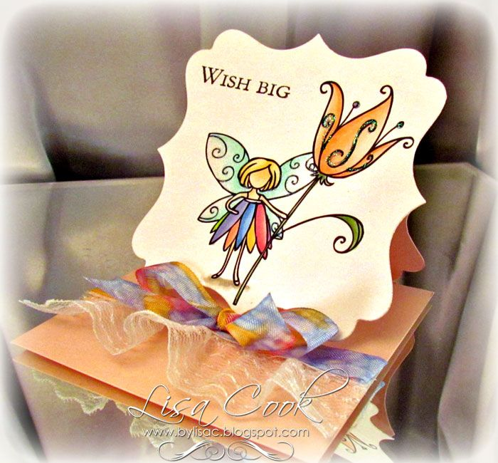 Free Card Making Ideas Part - 16: From Crayons To Copics: Card Making Ideas, Free Designs: Fairy Easel Card (