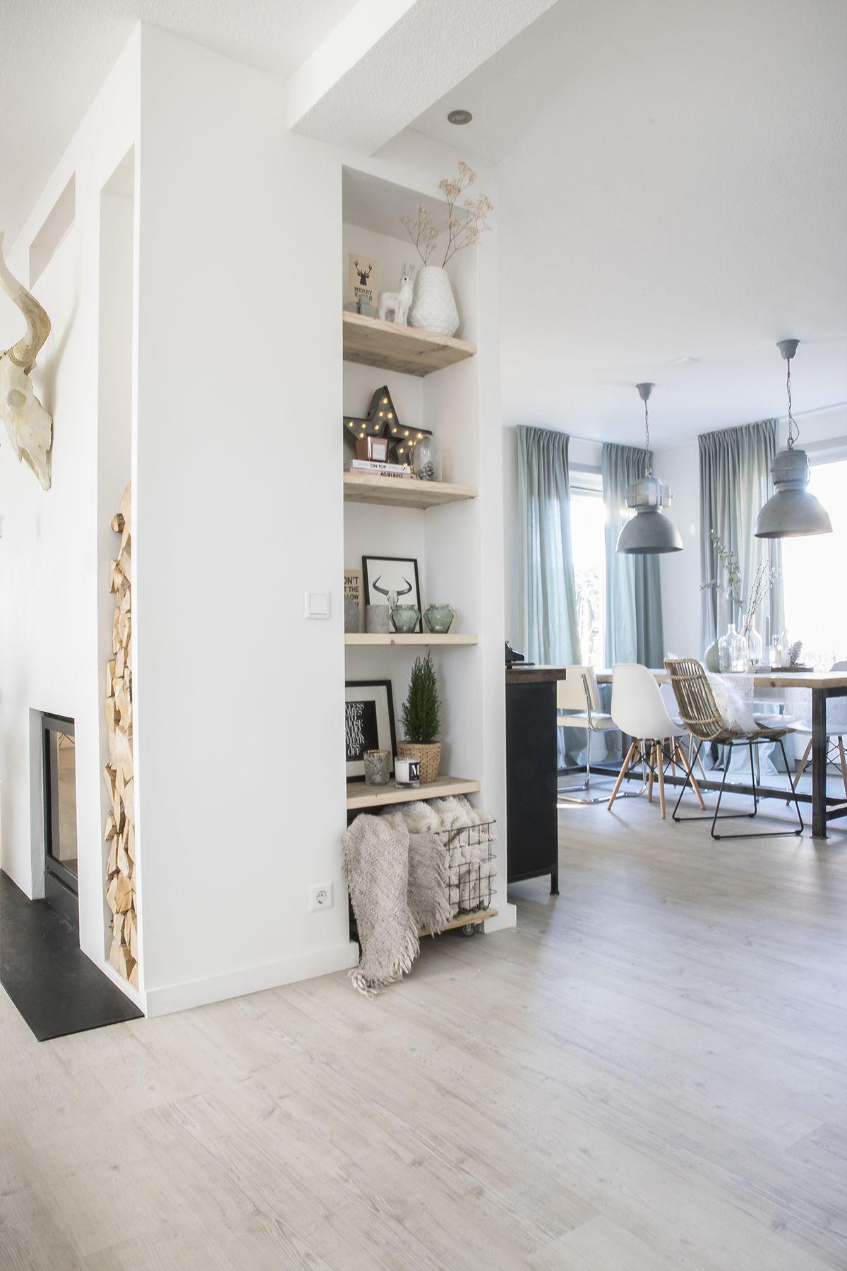 Binnenkijken bij Marlou & Jurre - eetkamer | Ideeën voor het huis ...