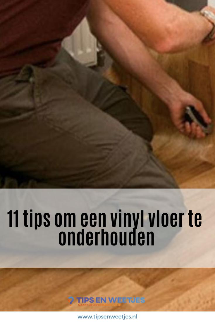11 tips voor het schoonmaken van uw vinyl vloer