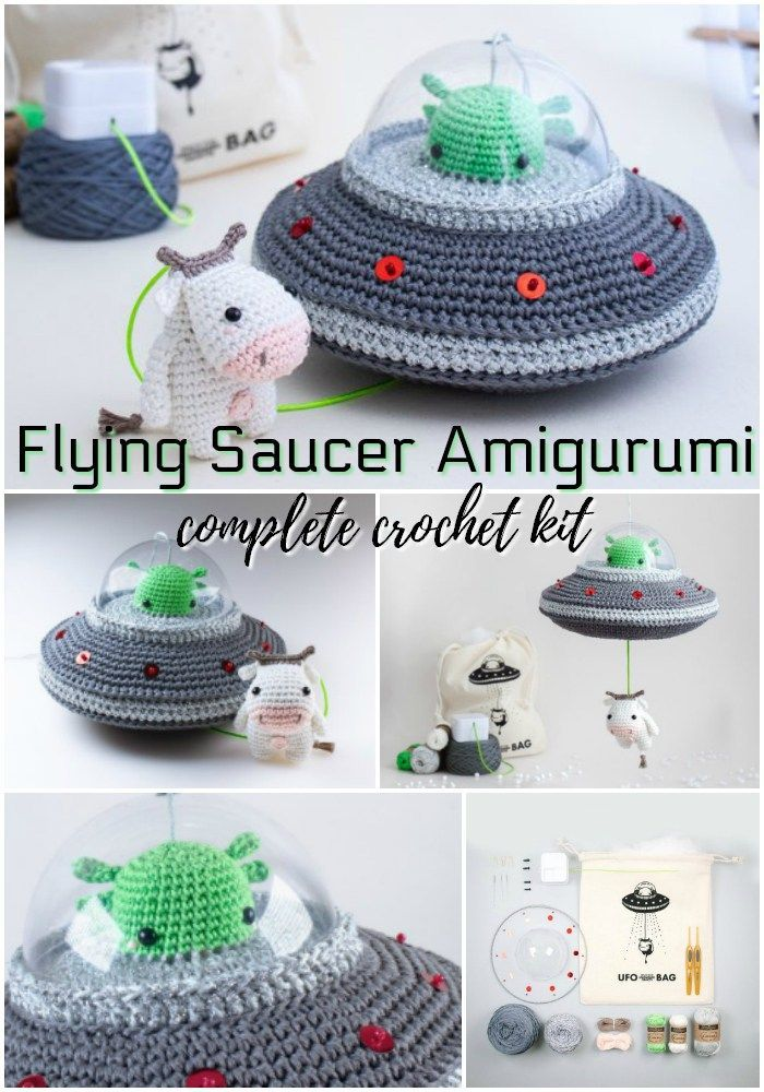 Complete (Incredible) Yarn Craft Kits #amigurumicrochet