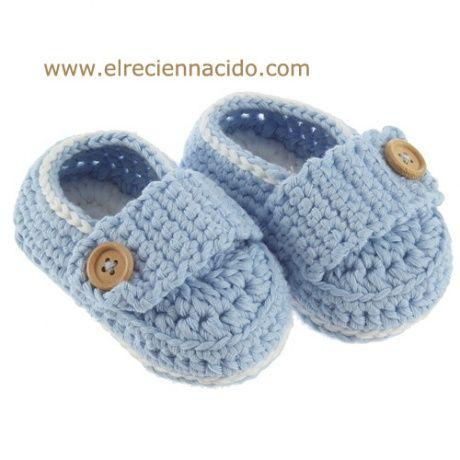 Zapatitos de crochet para bebes Preciosos patucos en forma ...
