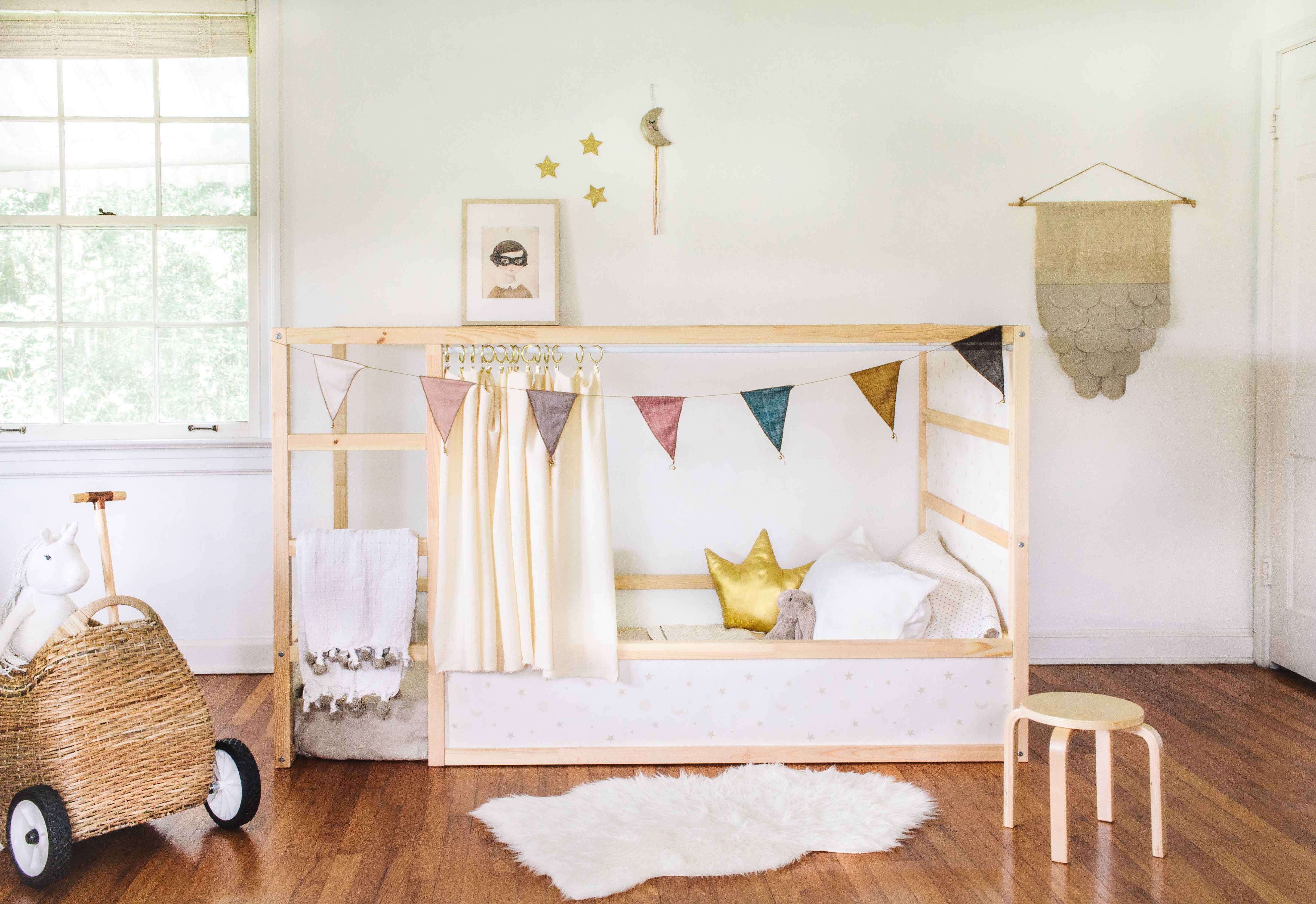 Easy Tutorial On How To Hack The Popular Ikea Kura Bed Hunker Ikea Kura Bed Ikea Kids Bed Ikea Kura