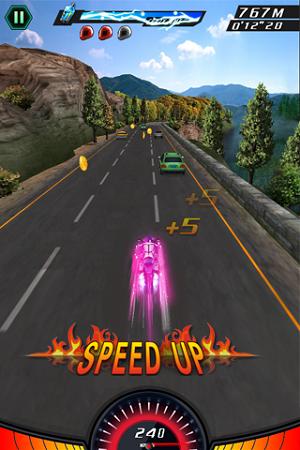 Asphalt Moto 2 indir. Görsel efektler