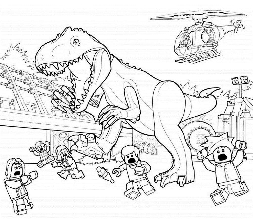 Indominus Rex Coloring Pages | Dinosaur coloring pages ...