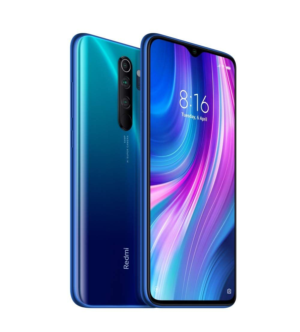 Redmi Note 8 Pro Electric Blue 8gb Ram 128gb Storage Xiaomi Smartphone Cell Phones For Sale