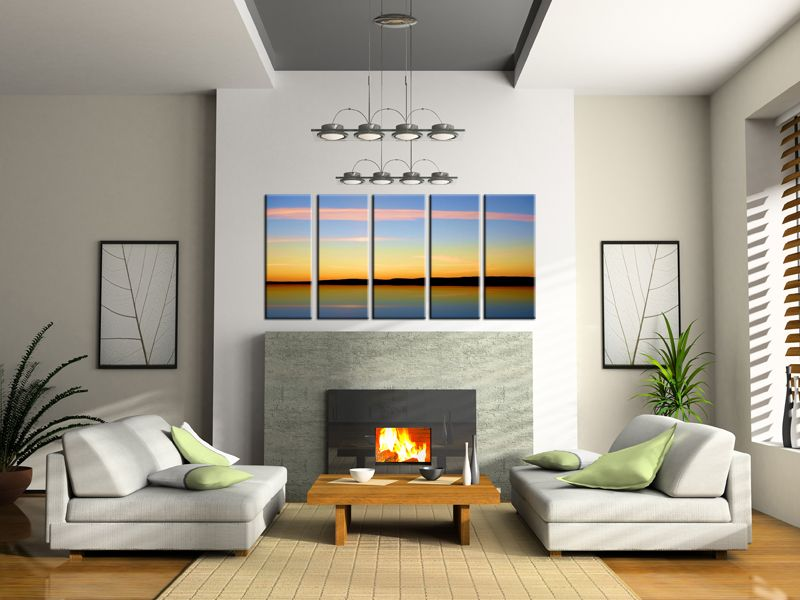 fireplace feature wall paint ideas