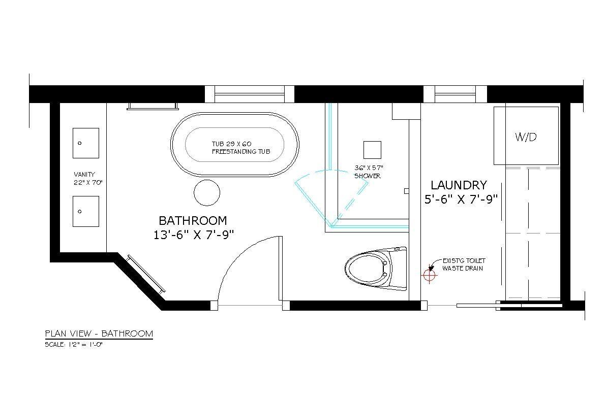 Https I Pinimg Com Originals B0 57 B9 B057b9dca268abd9d95d58ec455f72ab Jpg Laundry In Bathroom Laundry Room Bathroom Bathroom Floor Plans