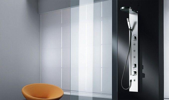 Colonna Doccia Teuco P546.Teuco P546 Equipped Shower Panel Designed By Angeletti Ruzza Bathroomdesign Shower Showertray Doccia Piattodoccia Rela Arredamento Bagno Doccia Bagno