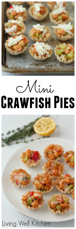Mini Crawfish Pies,