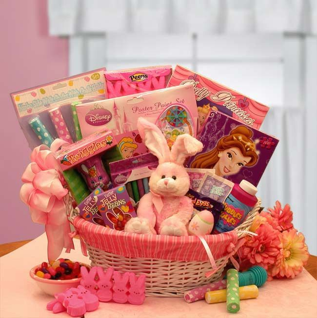 Little princess disney easter fun basket gifts pinterest little princess disney easter fun basket negle Images
