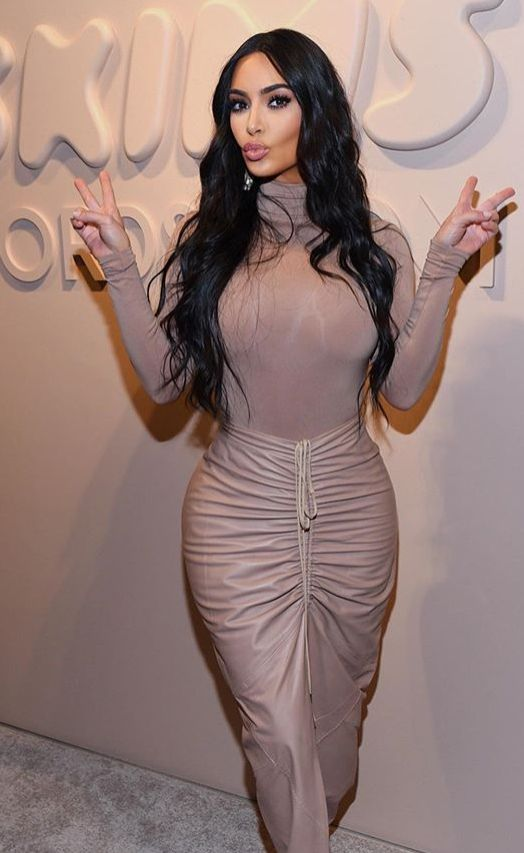 Kim Kardashian Goes Braless, Shows Nipples Through Sheer