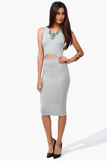Run This Dress in Heather Grey - Necessary Clothing