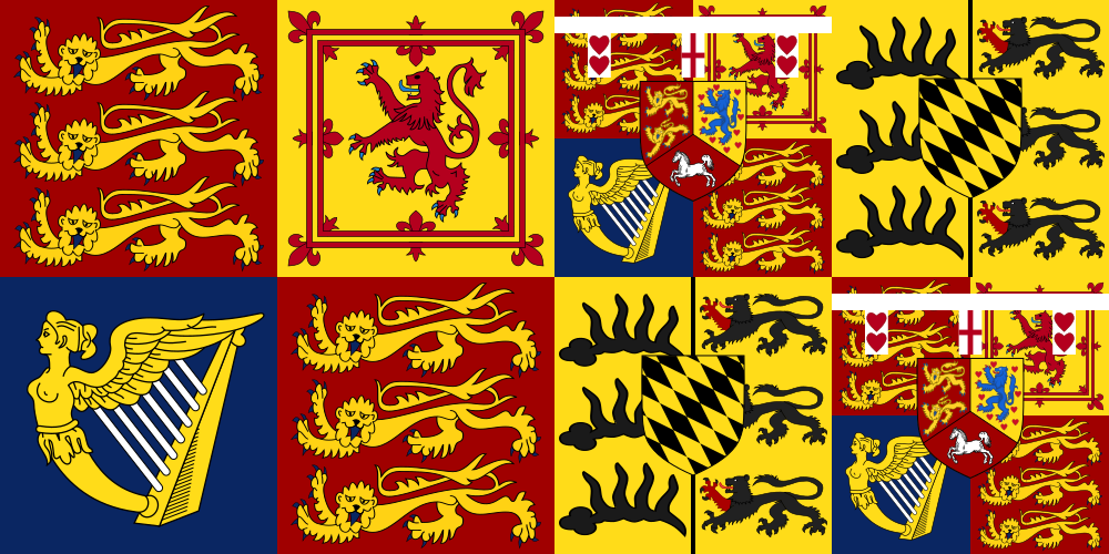 Royal Standard Of Mary Of Teck Queen Consort Mary Of Teck Wikipedia British Flag Flag Design Flag