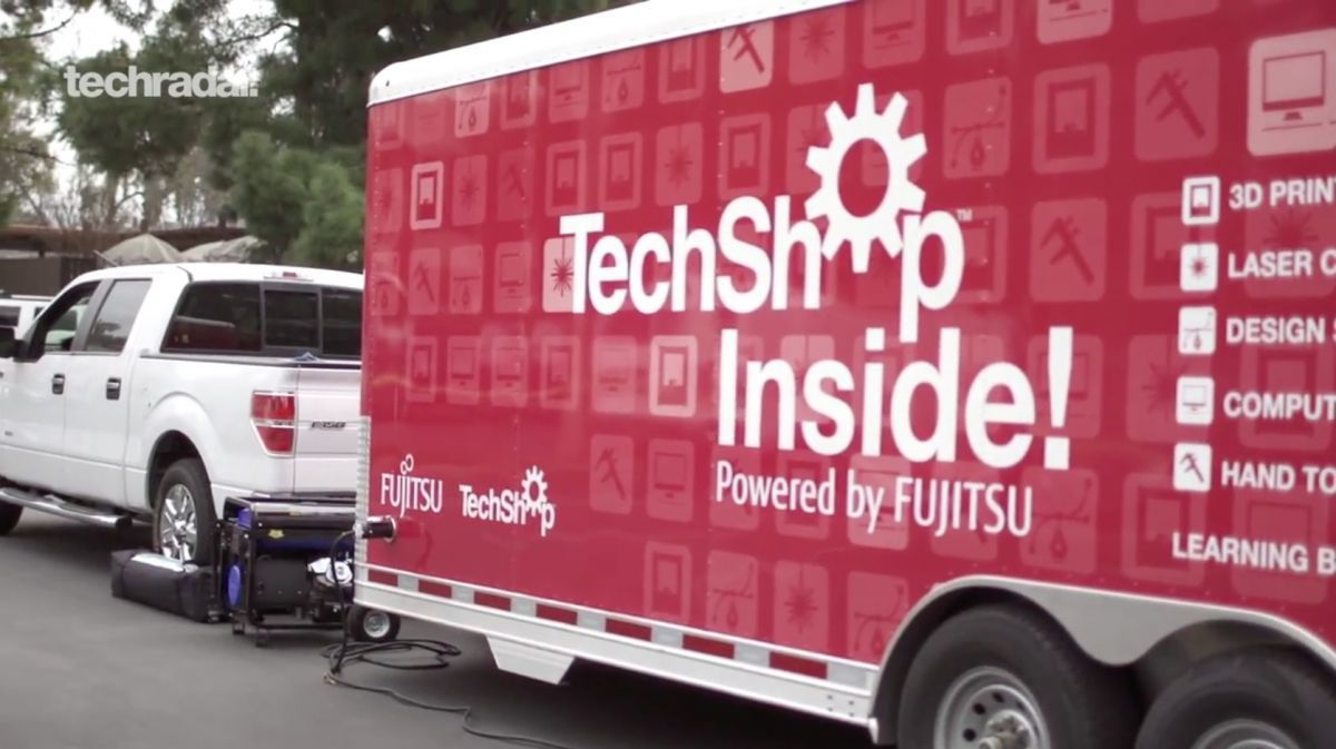 TechShop Inside is a DIY innovation workshop on wheels | TechShop Inside is a mobile, modular makerspace Buying advice from the leading technology site
