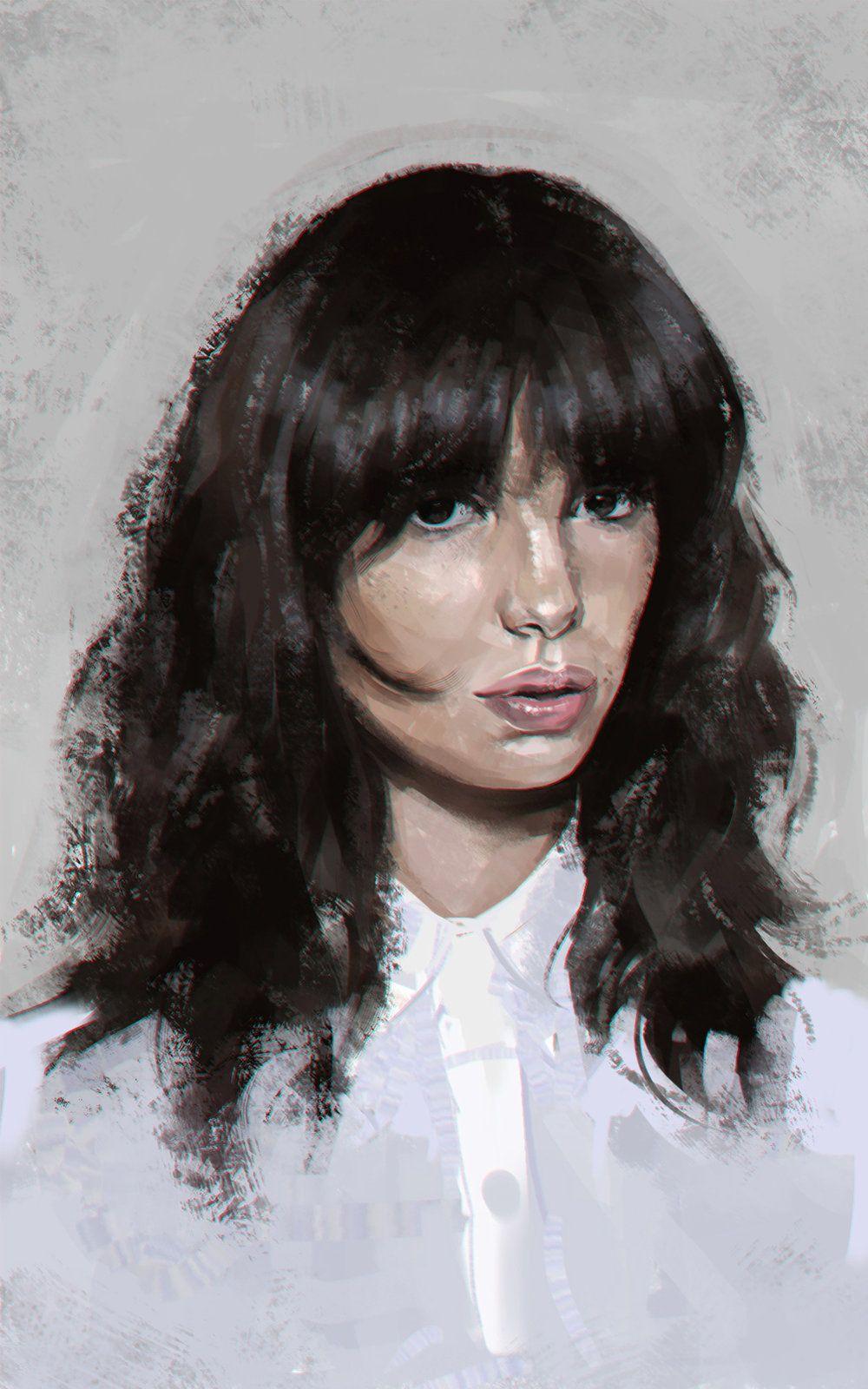 New_model, Eugene Vinokurov on ArtStation at http://www.artstation.com/artwork/new_model