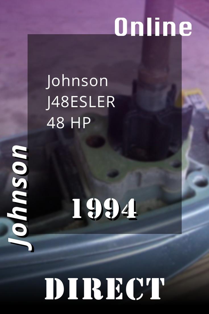 1994 J48esler Johnson 48hp Outboard Motor Service Manual Download Outboard Diy Repair Repair Manuals