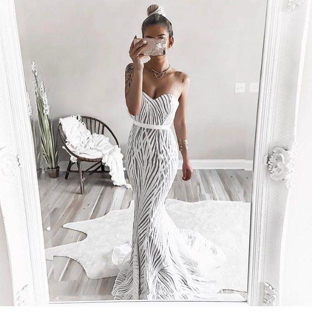 White Lexington Gown Bride Looks Pinterest Wedding Dresses