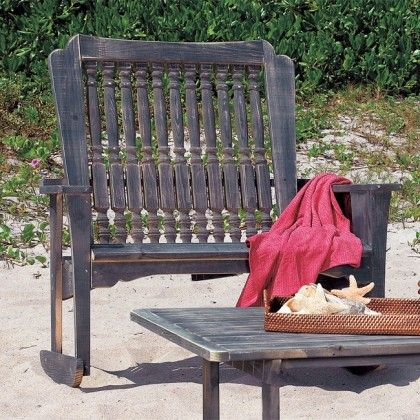 Admirable Uwharrie Chair Hatteras Double Rocking Chair Made In North Camellatalisay Diy Chair Ideas Camellatalisaycom