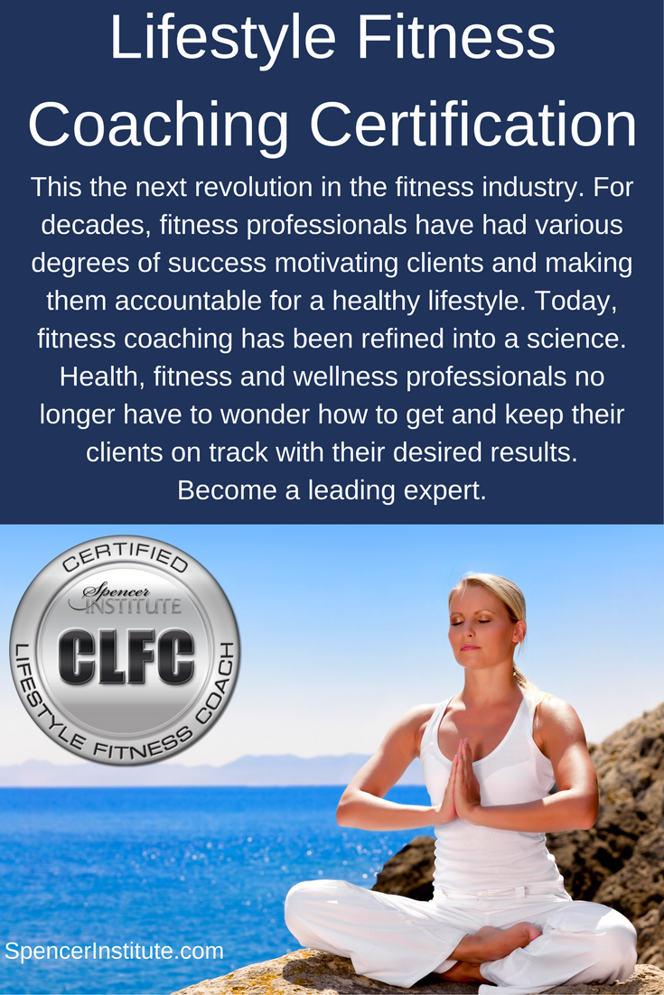 Lifestyle Fitness Coach Certification Personal Training