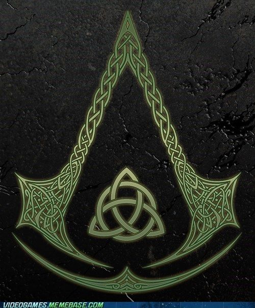 Assassin S Creed In Celtic Knots Assassins Creed Tattoo