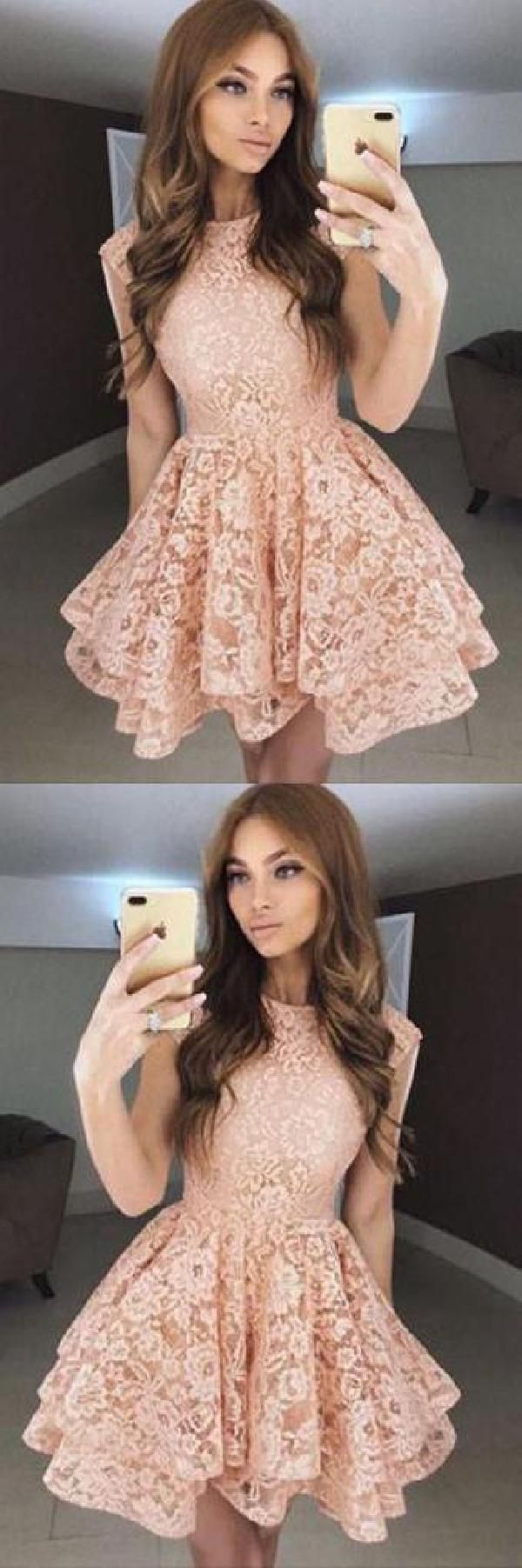Homecoming dresses short lace prom dress cheap homecoming dresses