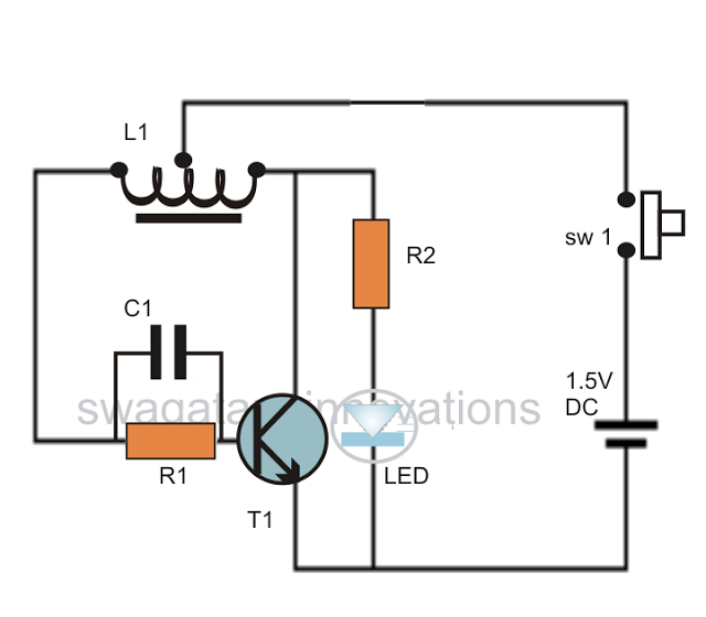 3 best led joule thief circuits