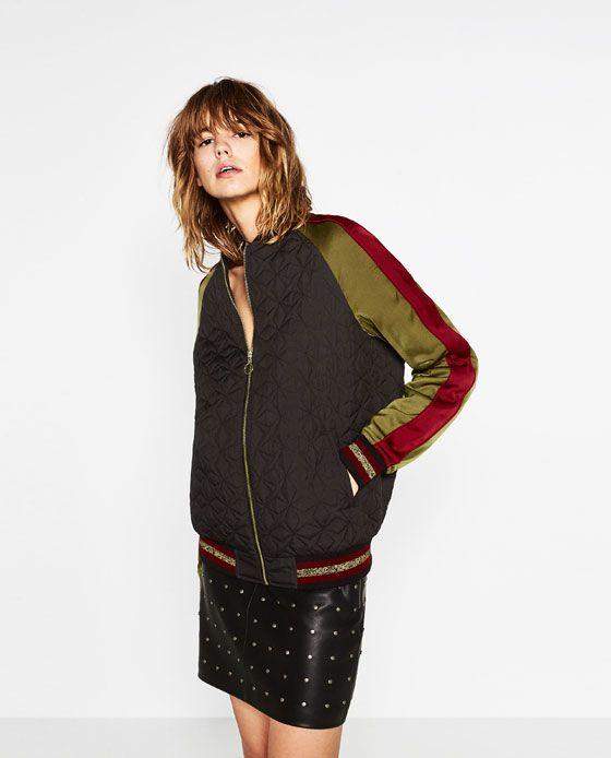 ebd4e540b04d Zara bomber jacket   Jackets & Blazers   Zara bomber jacket, Jackets ...