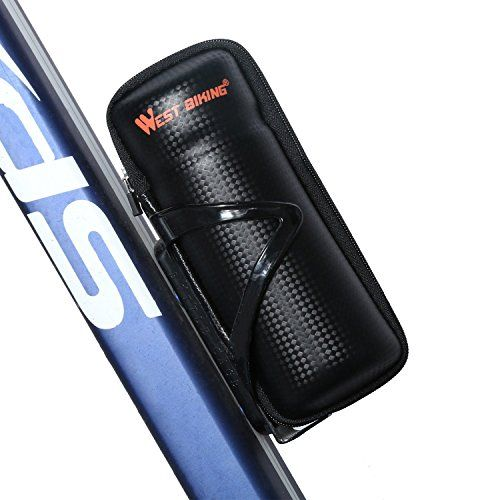 Bicycle Bike Storage Bag Cycling Repair Tool Bag Zipper for Water Bottle Cage