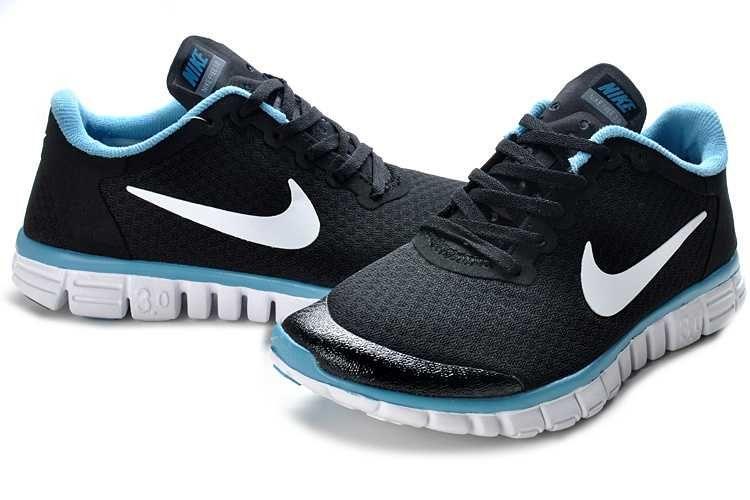 magasin en ligne 8f5bd 480d2 Nike Free 3.0 V3 Femme Chaussures Noir Blanc - €50.99 ...