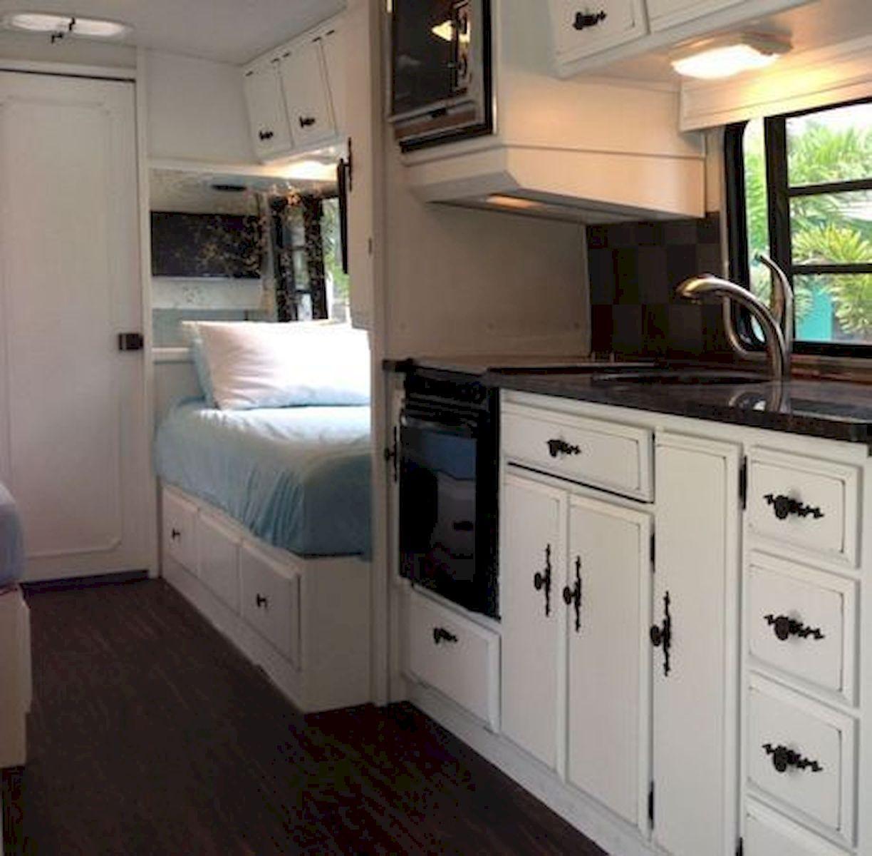 Amazing rv travel trailer remodels ideas yellowraises