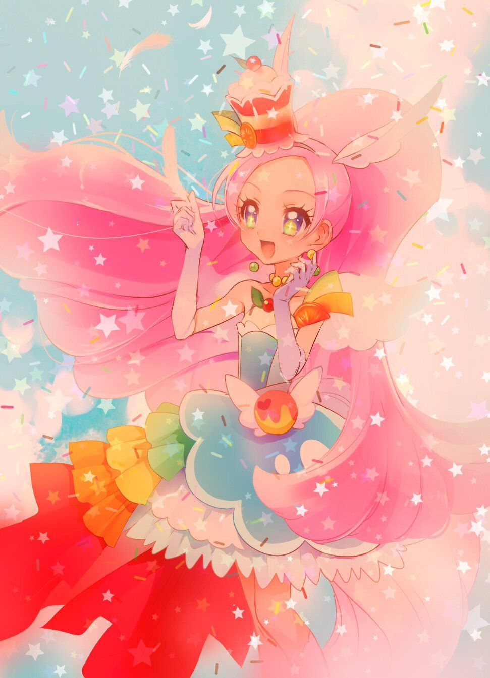 Pin by Joud on Cure Parfait Magical girl anime, Anime
