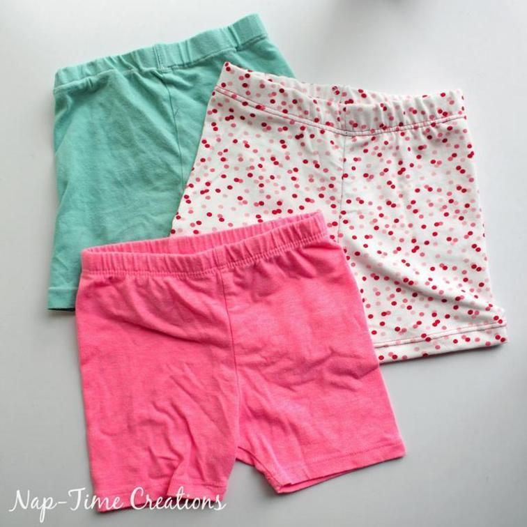 Summer Shortie Leggings | Freebooks nähen Kinderkleidung | Pinterest ...