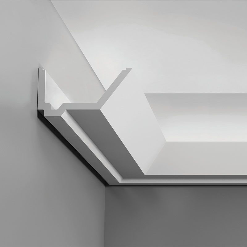 C358 Crown Molding For Indirect Lighting Length 78 3 4 Request Your Free Catalog Ht Indirect Lighting Orac Decor Cove Lighting