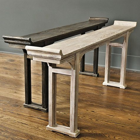 Ananda Console Table | Serving table, Small dining rooms and Small ...
