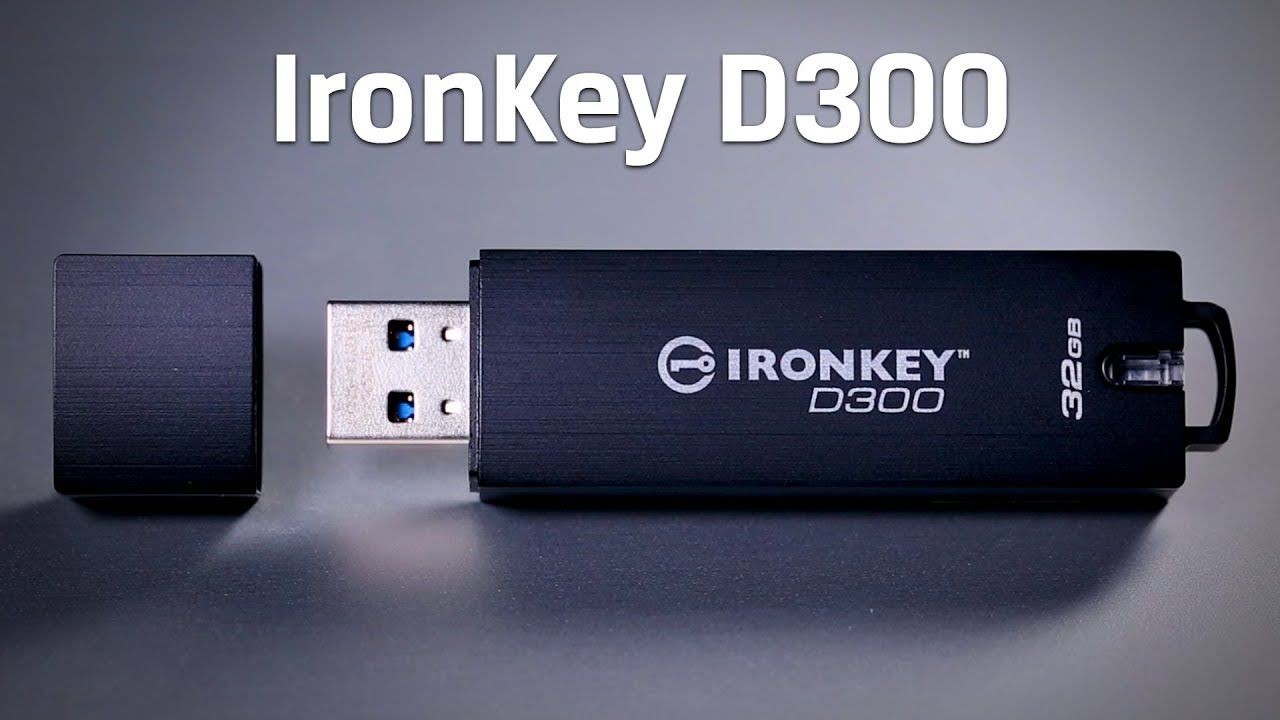Ironkey D300 Secure Usb 3 0 Drive 4gb 128gb Kingston Con Immagini Usb Elettronica