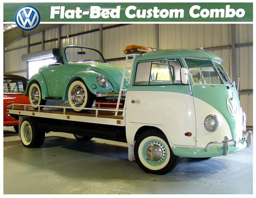 VW Flat Bed Custom Combo. I really like this photo. Roan