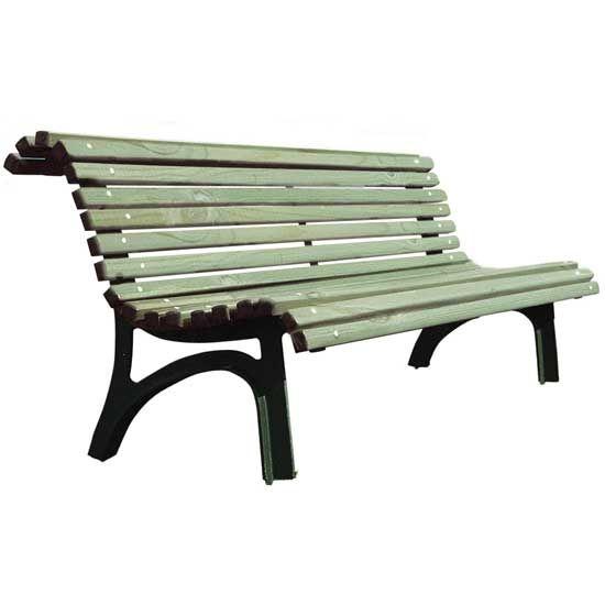 Banc jardin brut PEFC Plaza real | HOME DECOR | LIFESTYLE ...